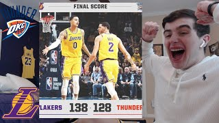 reacting to lakers