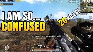 I AM SO CONFUSED! | 20 Kills FPP Solo VS Squad | PUBG Mobile