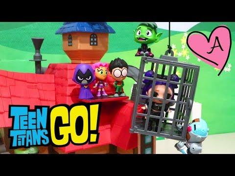 Teen Titans Go Rescatan Bebes L O L Surprise Munecas Y Juguetes
