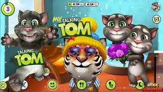 My Talking TIGER Tom the Cat 2018 Game Play on PC  - Talking Tom & the Android Gameplay Compilation