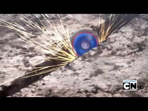 ʜᴅ 3ᴅ Beyblade Metal Fury Episode 11 Cosmic Tornado