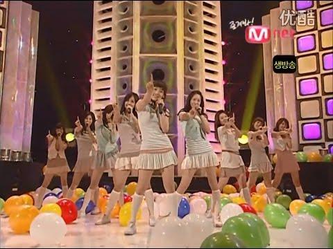 080410 SNSD  Ba Ba + 短劇 , M! Countdown