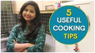 5 Useful Cooking Tips and Tricks | Cooking Hacks | Indian Vlogger