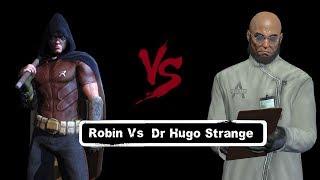 char swaps batman arkham city robin vs dr hugo strange