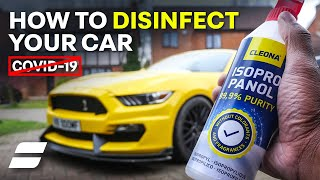 Coronavirus In Your Car? Here's How To Disinfect For COVID-19