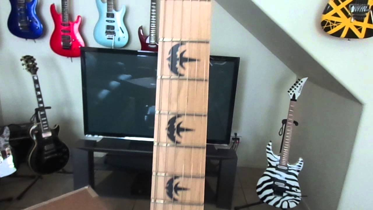 esp ltd mw skull signature electric guitar unboxing sneak preview youtube. Black Bedroom Furniture Sets. Home Design Ideas