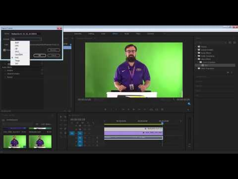 Stills and Key Framed Effects - Premiere Pro