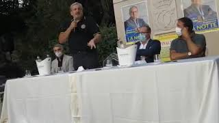 Emiliano presenta la candidatura di Francesco La Notte