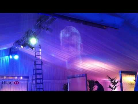 LIVERPOOL WATER WALLS AND PROJECTION SCREEN
