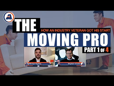 Stephen Crooks Start in The Moving Industry