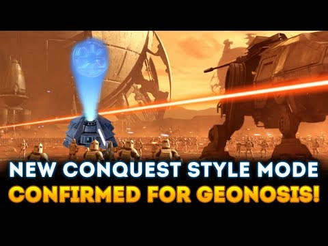NEW CONQUEST STYLE Mode Confirmed for Geonosis! It Will be MASSIVE! - Star Wars Battlefront 2 thumbnail