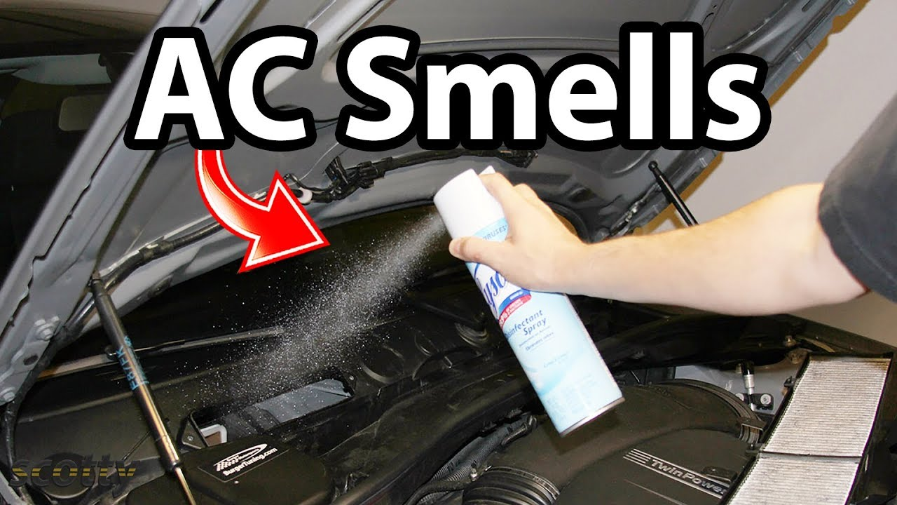 how to remove ac smells in your car odor life hack youtube. Black Bedroom Furniture Sets. Home Design Ideas