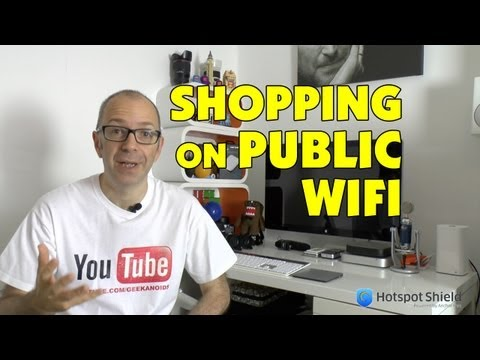 Shopping on Public Wi-Fi - How to Stay Safe