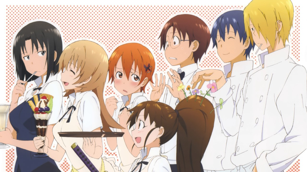 Wagnaria Working S1 Completely Random OST Compilation Part 2