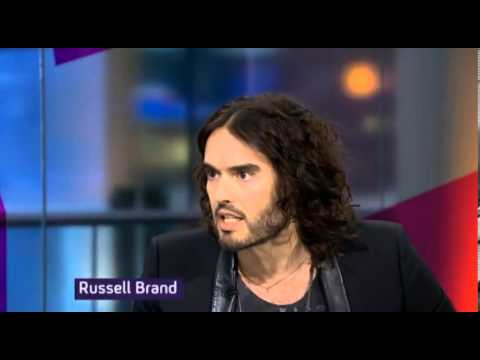 "Russell Brand to Channel 4's Jon Snow; ""Listen you, Let me Talk"""
