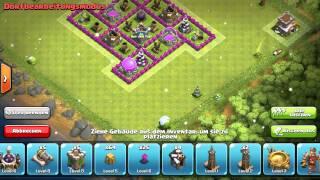 Let's Play Clash of Clans #005 - Base/Dorf Rathaus 8 Ressourcen richtig schützen [Deutsch/German]