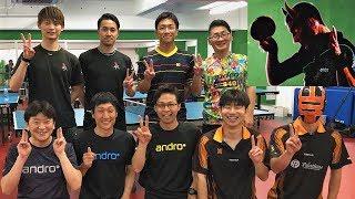 【#HexerGrip/PowerGrip andro】ぐっちぃVSはまちゃん/村田さん/櫻井さん/よっしー【卓球知恵袋】Table Tennis