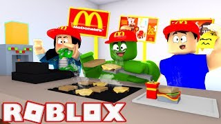 We WORK ON the MC DONALDS of ROBLOX
