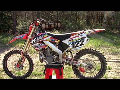 2001 CR250 Project Build