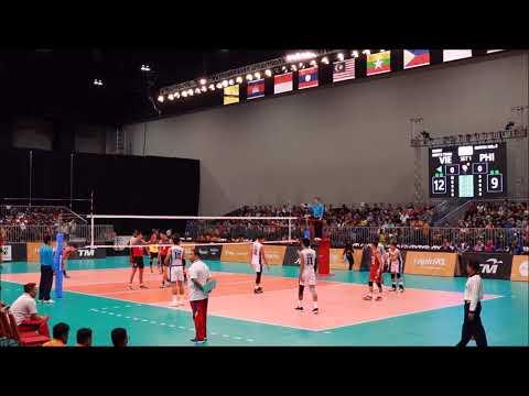 29th SEA Games Volleyball Men: Philippine vs Vietnam