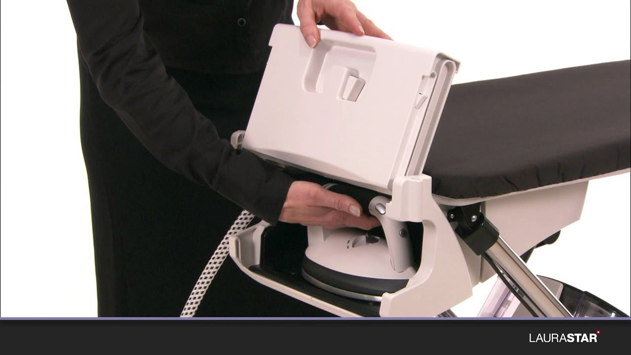 Laurastar How To Open And Set Up Your Ironing System Youtube
