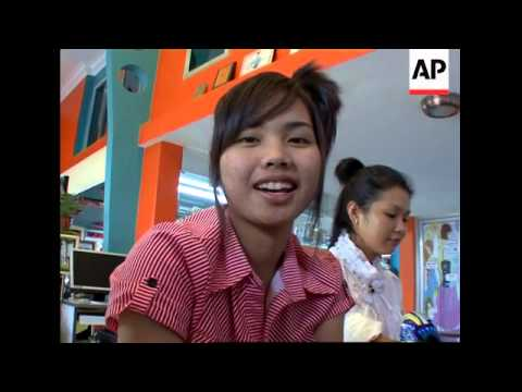 Nail art becomes increasingly popular in Cambodia