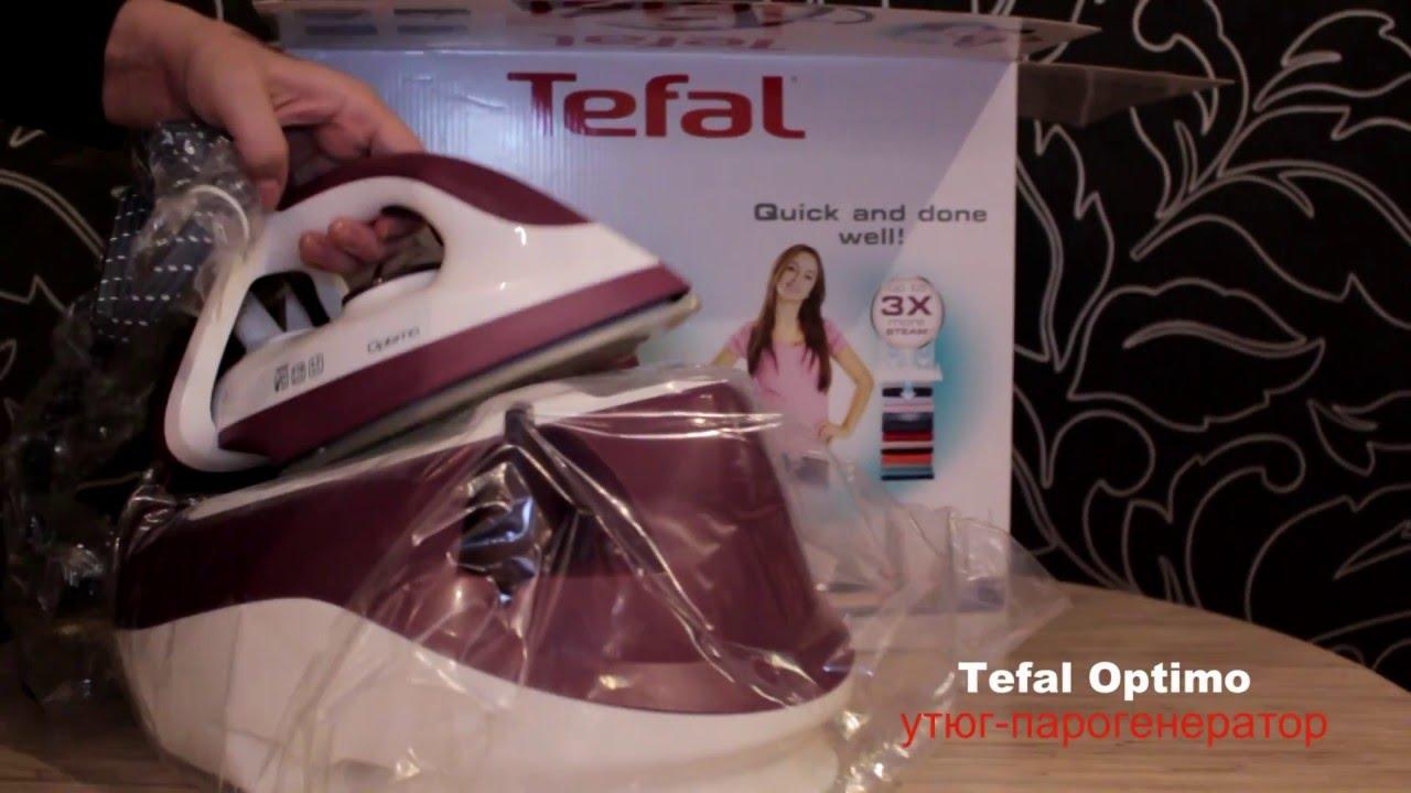 Обзор утюгов Tefal FV5635E0 и Tefal FV5655E0 от эксперта «М.Видео .