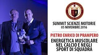 Estratto Summit 2016: Pietro Enrico Di Prampero