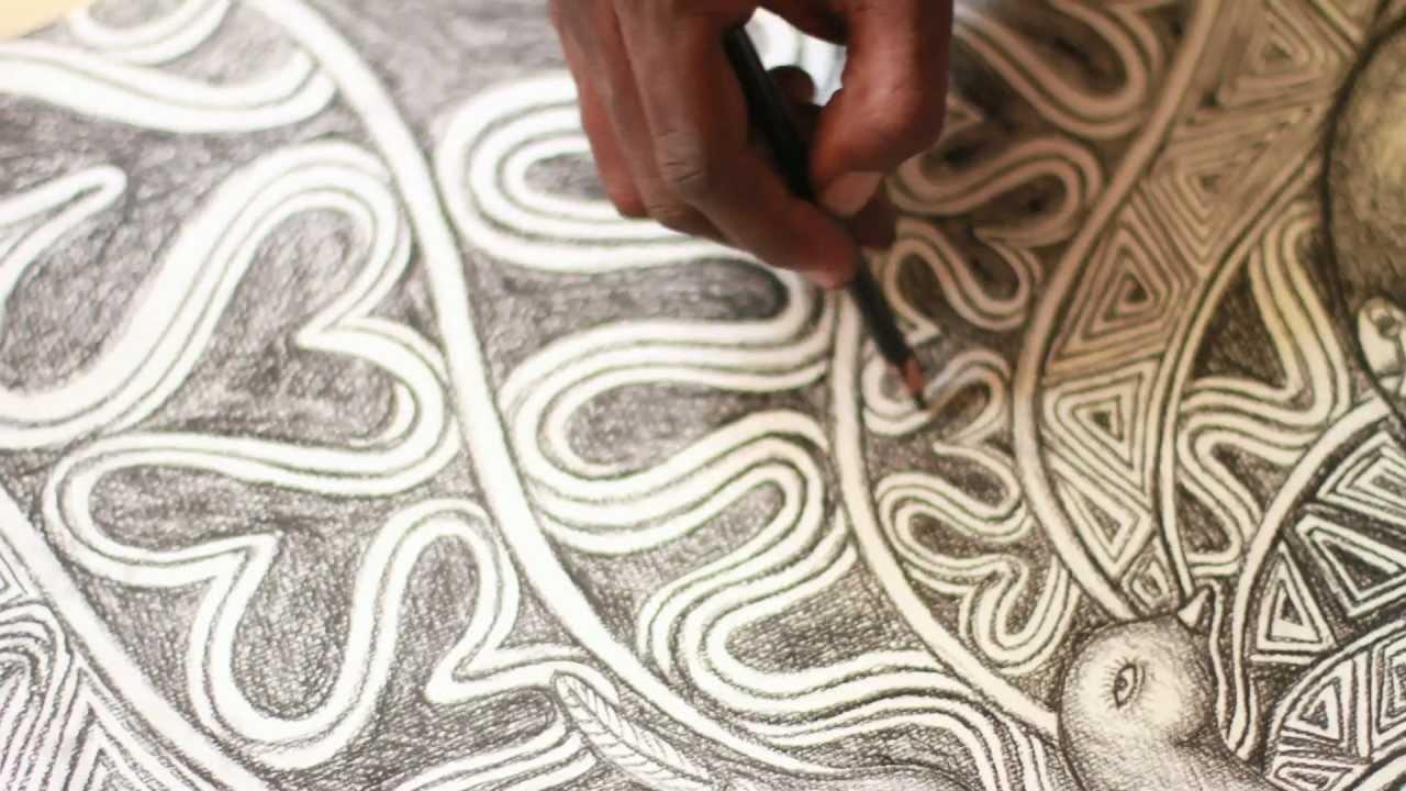 Laolu Senbanjo | On his art. [miabaga.com]