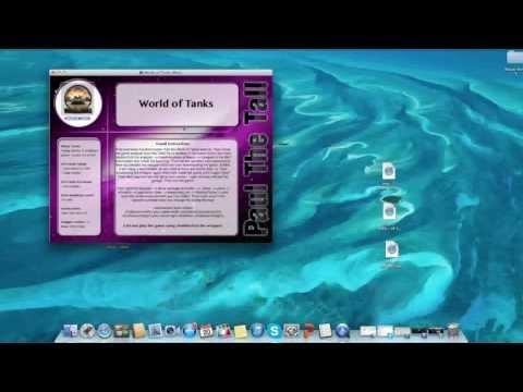 Установка игры World Of Tanks на Mac OS