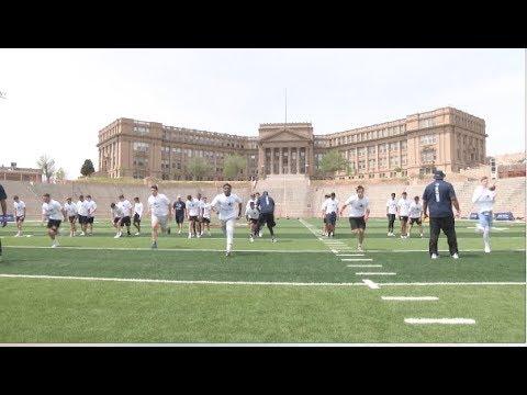 Cowboys Football Camp at EPHS