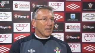 NEWS Sport - Nigel Adkins reciting