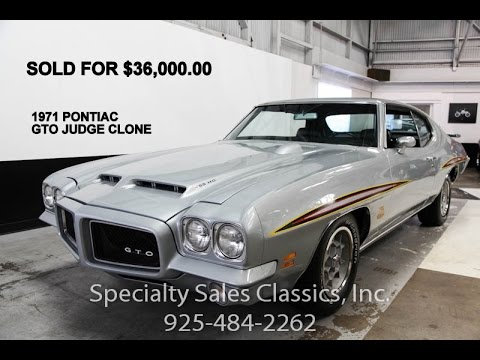 1971 Pontiac GTO 455 HO restored before and after 5239864