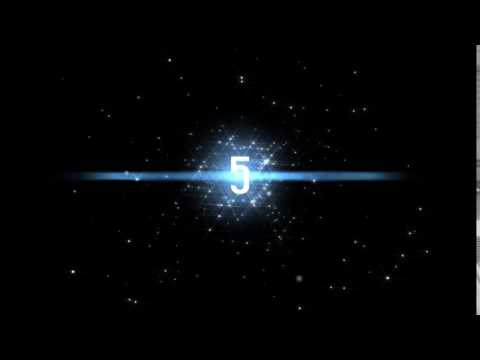 The Best Countdown Space Animation Hitung Mundur