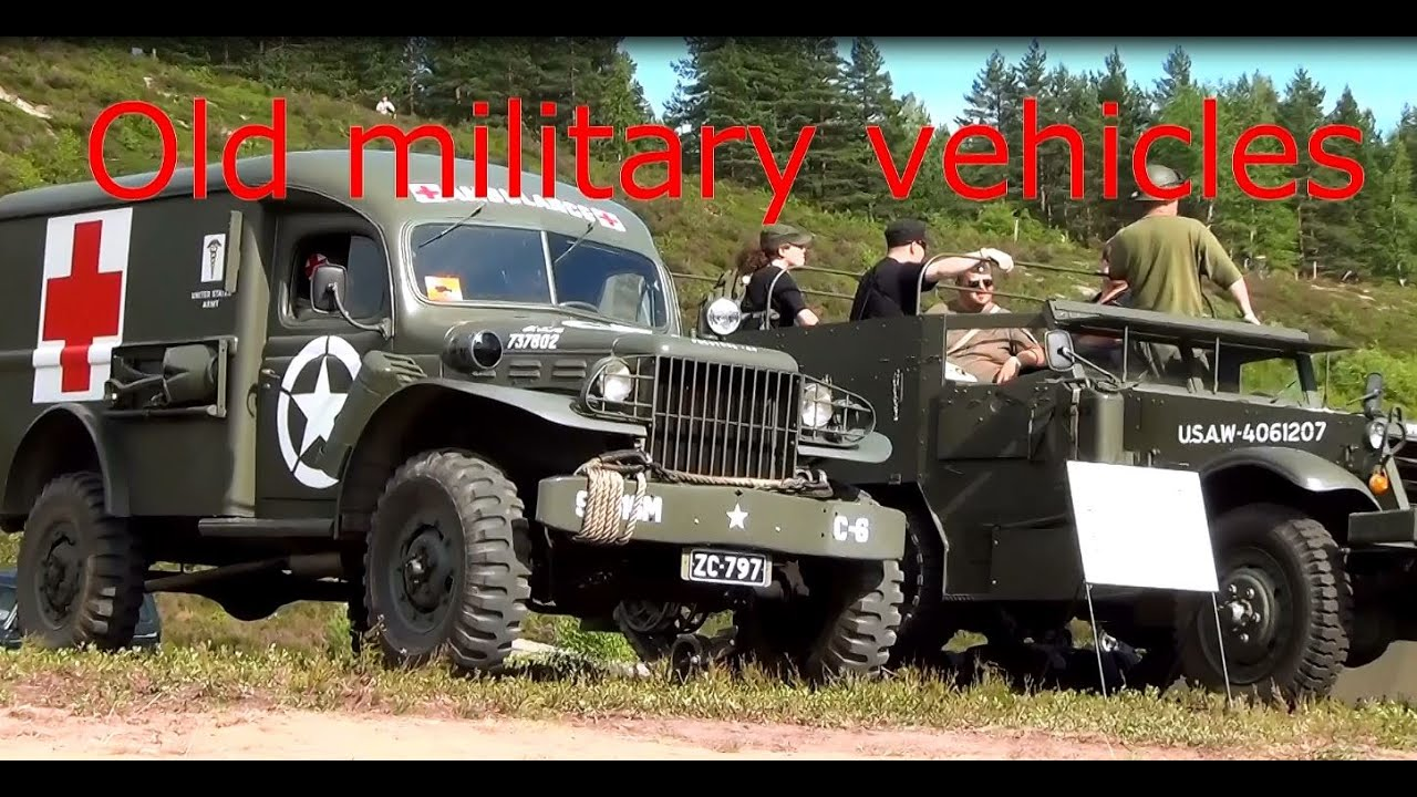 Old Military Vehicles Youtube