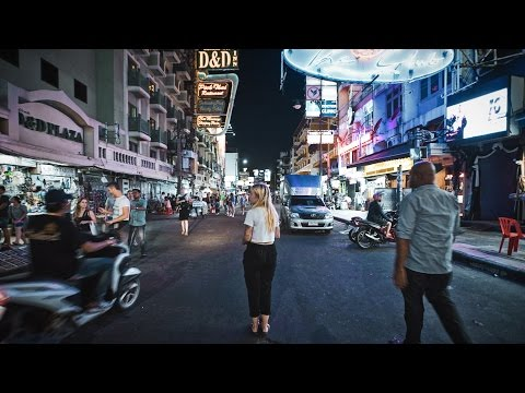 WAT PHO & KHAOSAN ROAD BY NIGHT - Thailand Travel Video
