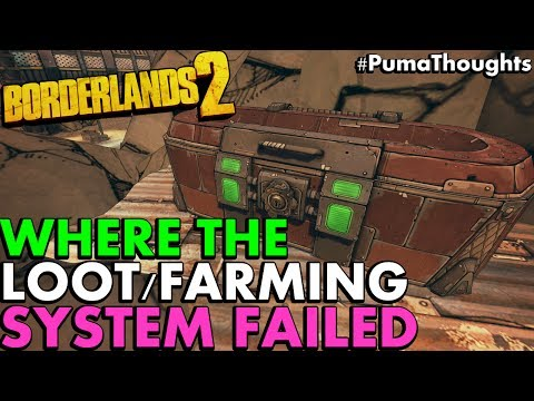 Where Borderlands 2's Loot/Farming System Failed (How Borderlands 3 Can Improve) #PumaThoughts