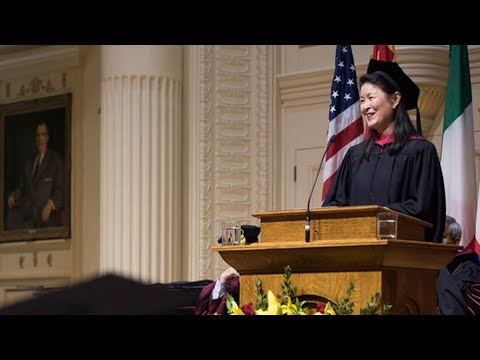 Elon Commencement -  Ueng Urges Graduates to Embrace the Mountains of Life, Business and Beyond