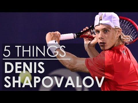 5 Things About Denis Shapovalov, Tennis Superstar