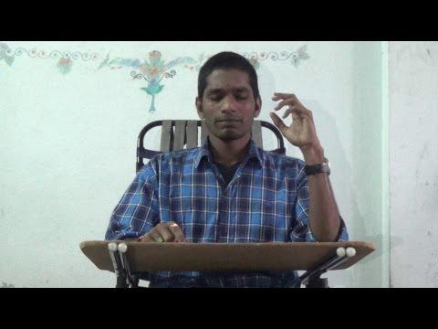 "Awesome singing of ""vidhata talapuna-Sirivennela"" by SB pranay"