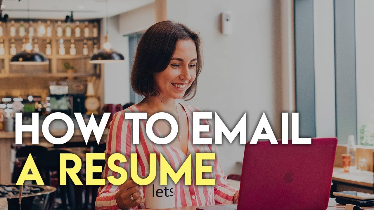 How To Email Your Resume To An Employer Jobs In Dubai Youtube