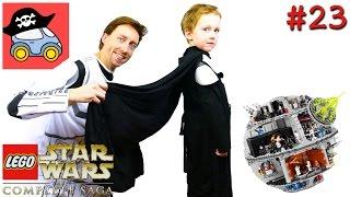 👽 #23 ПОБЕГ СО ЗВЕЗДЫ СМЕРТИ. Lego Star Wars The Complete Saga. Новая надежда — Жестянка