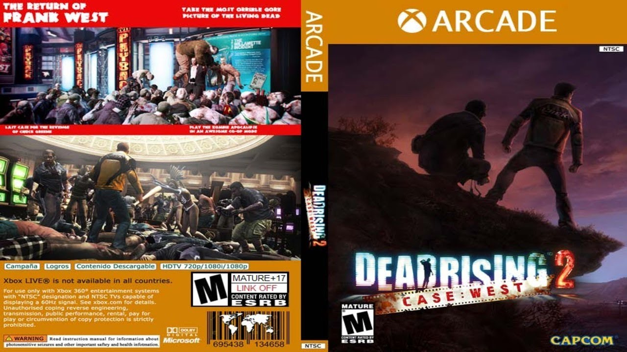 Dead Rising 2 Case West Xbox 360 Jtag Rgh Youtube
