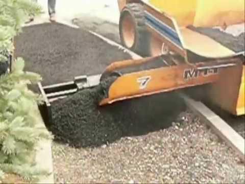 Mini terminadora de asfalto para aceras pavimentos - Pavimentos para aceras ...