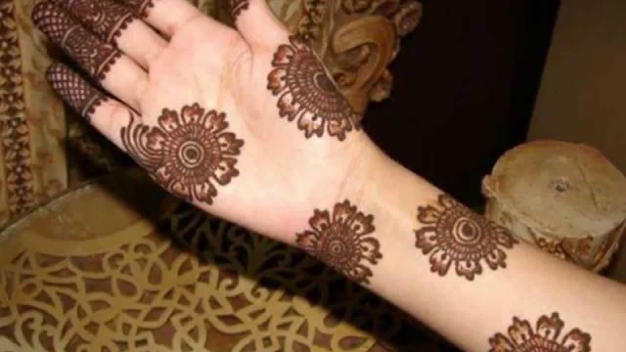 Best Arabic henna designs for Hands 2015 – Simple Mehndi Design | Henna
