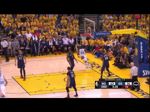 pelicans @ warriors Game 2 4-20-15