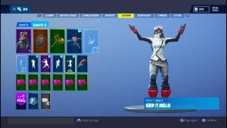 NEW WHITE POWDER SKIN WITH 54 EMOTES!  VALENTINES UPDATE AND CHALLENGES!  FORTNITE!