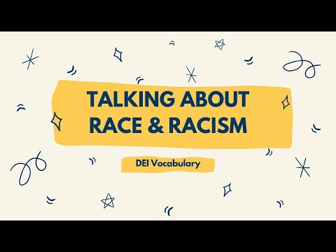 Talking About Race and Racism - Cove School