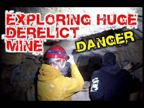 Exploring A Huge Derelict Mine