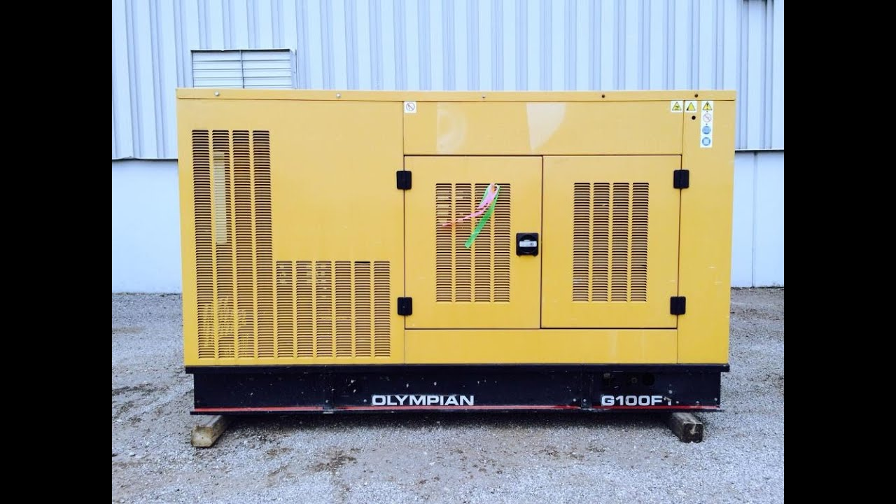 Cat Natural Gas Generator V